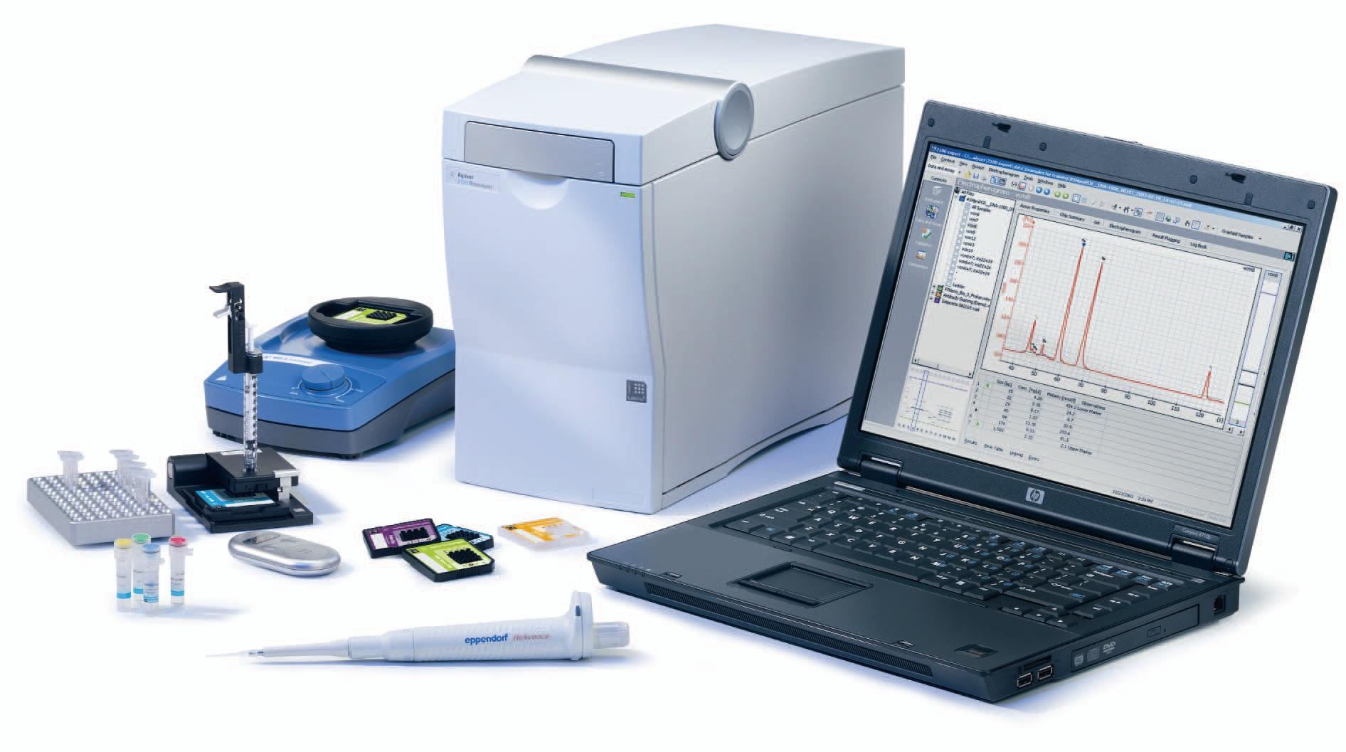 Rcf 2100 Bioanalyzer Agilent