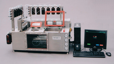 oligonucleotide synthesis machine